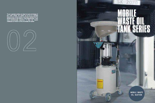 Mobile Waste Oil Tank Series Catalog
