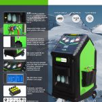 OP1234YF-1 A/C Recover, Recycle and Recharge Machine