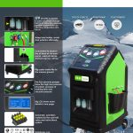 OP134U-1 A/C Recover, Recycle and Recharge Machine