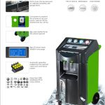 PRO208-1 A/C Recover, Recycle and Recharge Machine