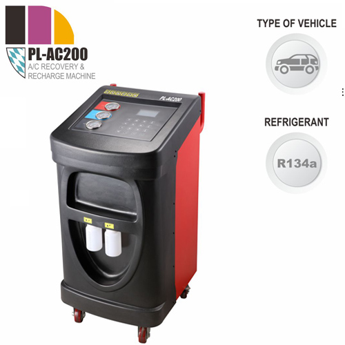 PL-AC200 A/C Recover, Recycle and Recharge Machine