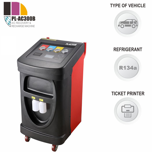 PL-AC300B A/C Recover, Recycle and Recharge Machine