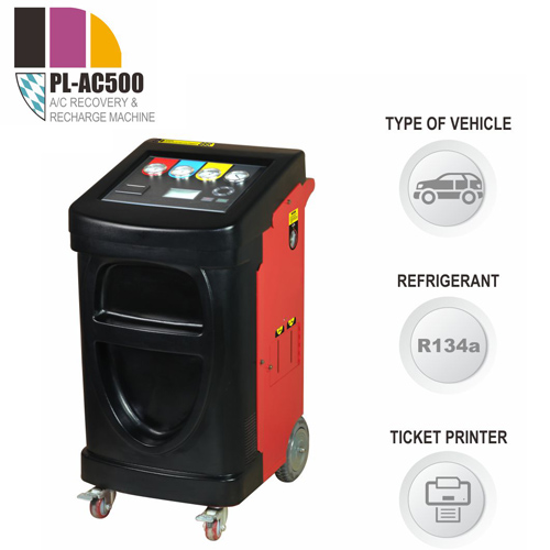 PL-AC500 A/C Recover, Recycle and Recharge Machine