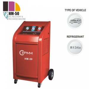 HM-50 A/C Recover, Recycle and Recharge Machine