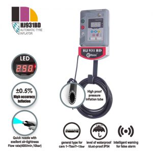 HJ931BD Automatic Tire Inflator Machine