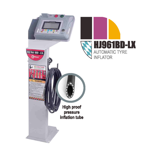 HJ961BD-LX Automatic Tire Inflator Machine