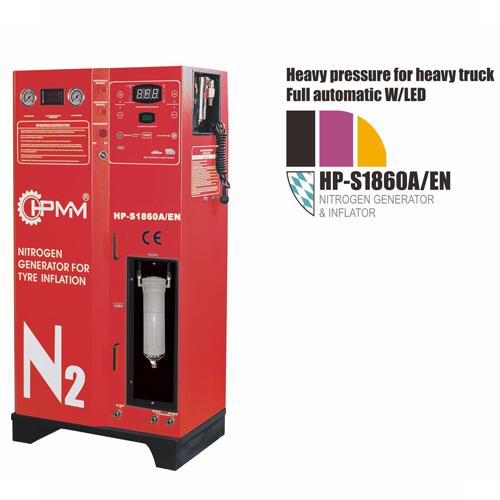 Nitrogen Generation System for Tires
